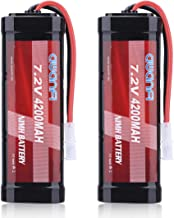 AWANFI 7.2V 4200mAh NiMH Battery High Power RC Car Battery with Tamiya Connector for RC..