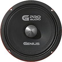 """$79 » Genius GPRO-M0665 6.5"""" 300 Watts-Max Midrange Car Audio Neodymium Speaker 4-Ohms Paper Cone"""