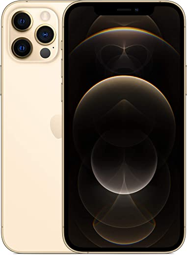 هاتف ابل ايفون 12 برو الجديد مع فيس تايم (256 جيجا) - ذهبي