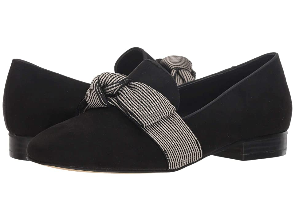 Tahari Session Loafer (Black/Cream) Women