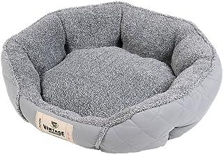 سرير حاضن للحيوانات الأليفة من القطيفة من هابي تيلز