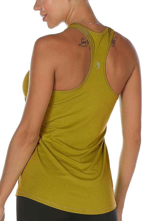 1615 opiniones para icyzone Camiseta de Fitness Deportiva de