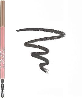 Chella Eyebrow Pencil, Graceful Grey - Vegan, Gluten Free, Cruelty Free, Paraben Free, Long Wearing, Smooth Consistency
