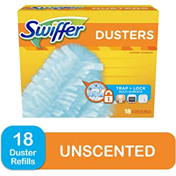 Swiffer Dusters, Multi Surface Refills, Unscented Scent, 18 count