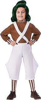 Disfraz oficial de Oompa Loompa de la película Willy Wonka