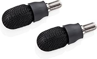 Wacom Pontas de substituição de carbono de 6 mm para 3ª geração Bamboo Solo e Duo Stylus, pacote com 2 (ACK20610), preto
