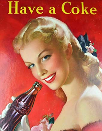 Coca-cola /Étain Mur Signe Affiche de Fer M/étal Mur /étain Panneau Attention Plaque R/étro d/écoration Murale pour Caf/é Bar H/ôtel Jardin Parc