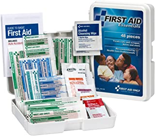 First Aid Only All-Purpose First Aid Kit, 48-Piece Kit