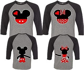 Mickey and Minnie Couple Shirts, Matching Couple Shirts, Disney Shirts, King and Queen Shirts