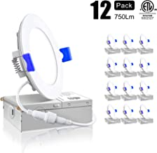 Best 4 led recessed lighting 5000k Reviews