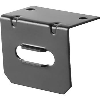 Amazon.com: CURT 58300 Vehicle-Side Trailer Wiring Harness Mounting Bracket  for 4-Way Flat: AutomotiveAmazon.com