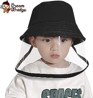 Kids Sun Visor Hat Protective Fishing Hat Sun Cap Wide Brim Boys Girls Bucket Hat