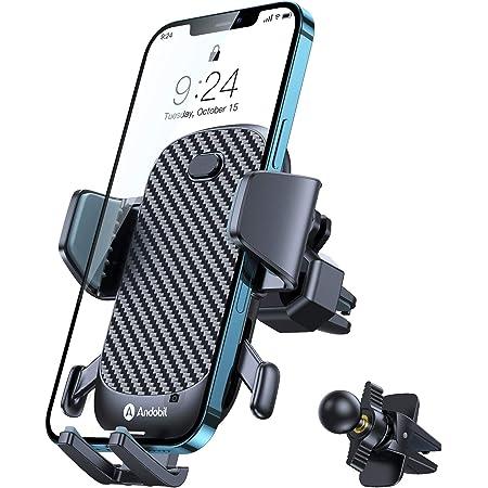 Andobil Handyhalterung Auto Lüftung Extrem Stabil 2021 Patent Design Mit 2 Lüftungsclips 360 Drehbar Handyhalter Kfz Handyhalterung Auot Für Iphone 12 Pro 12 11 Pro 11 Samsung S21 S20 Huawei Usw Elektronik