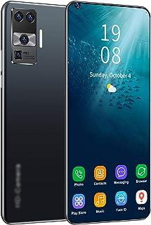 SUWEN Upplåsta mobiltelefoner, (4 + 64 GB/4 + 128 GB) 7,2 tum FHD helskärm, 5 600 mAh batteri med hög kapacitet, främre 24...