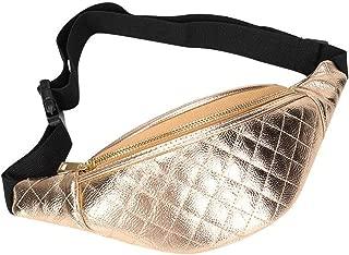Fashion fanny packs for women Plaid Print Shoulder Bag PU Leather Waist Fanny Chest Packs women's belt bag pochete feminina