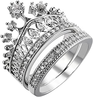 fashion crown ring
