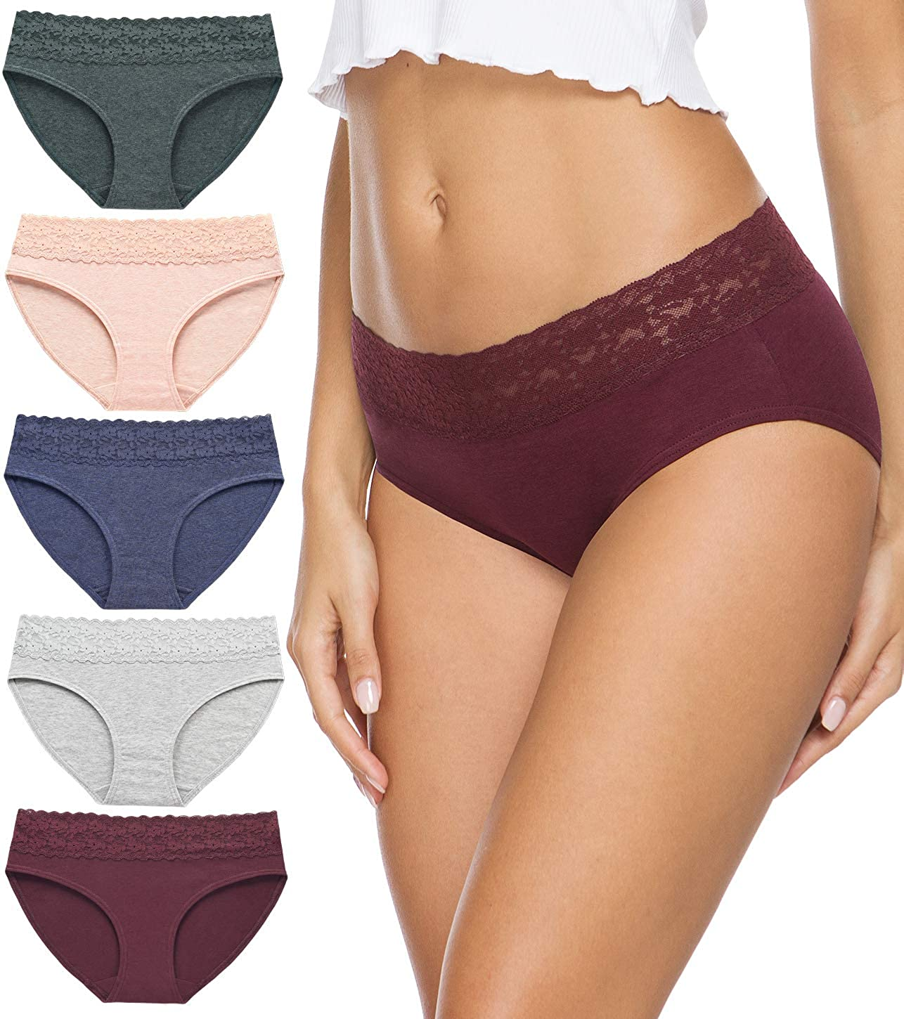 Cotton Underwear Columbus Mall for specialty shop Women Bikini Hipster Panties Underpants Lac