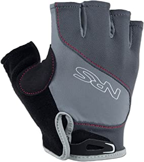 NRS Men's Axiom Paddling Gloves Gray