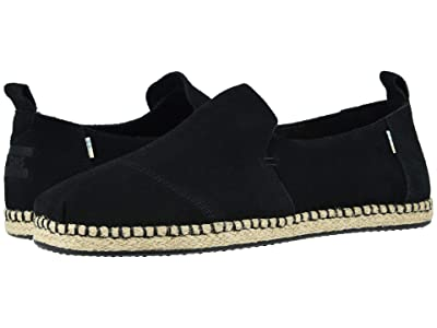 TOMS Deconstructed Alpargata Rope (Black) Men