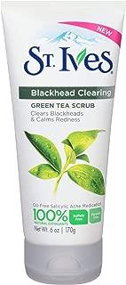 St. Ives Blackhead Clearing Face Scrub Green Tea 6 oz(Pack of 12)