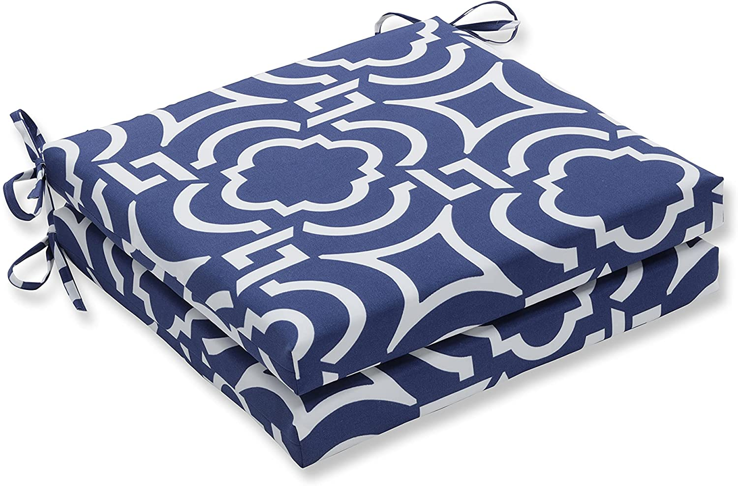 Free Shipping New Pillow Perfect Outdoor Indoor Carmody Corner Cu Square Seat Year-end gift Navy