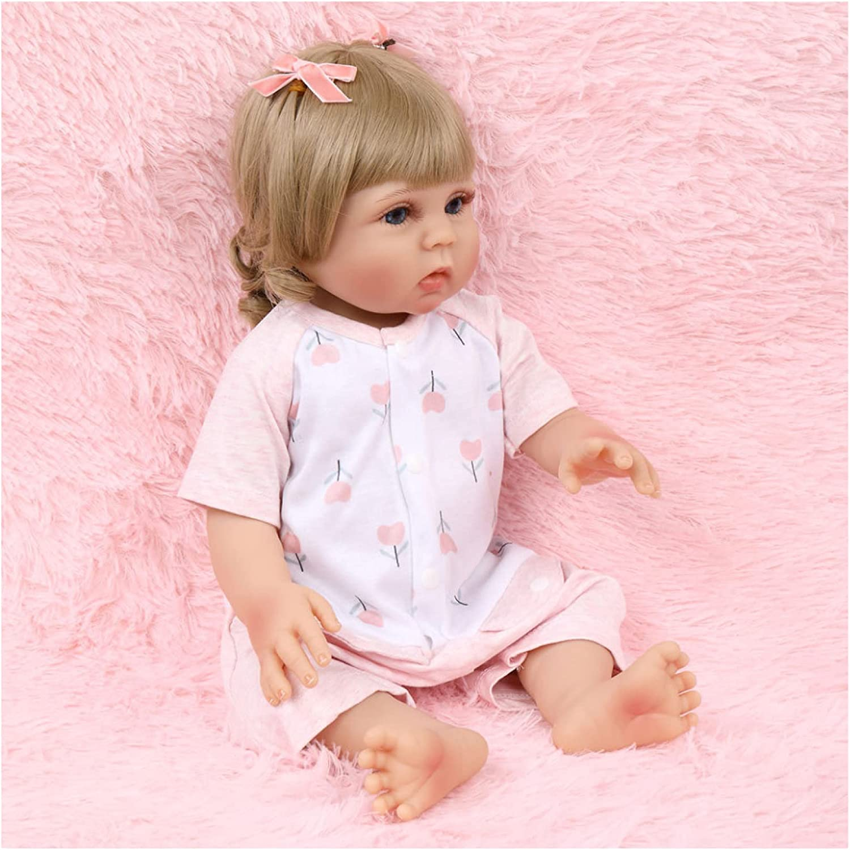 YANRU 18 Inch Silicone Free shipping New Milwaukee Mall Baby 18in 46cm Newborn Doll Reborn