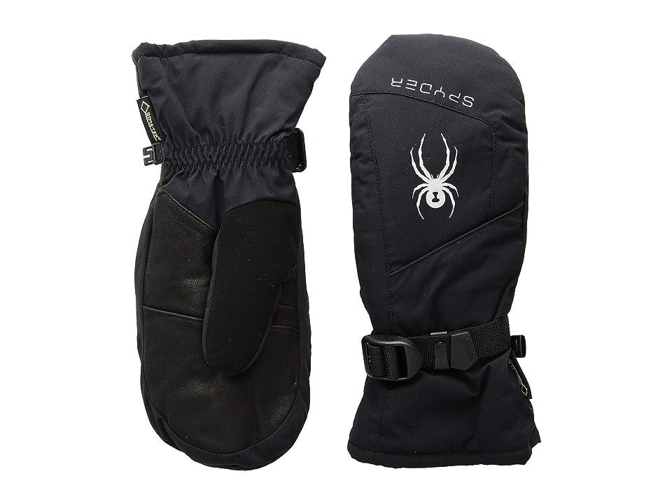 Spyder Synthesis Gore-Tex(r) Ski Mitten (Black/Black/Black) Ski Gloves