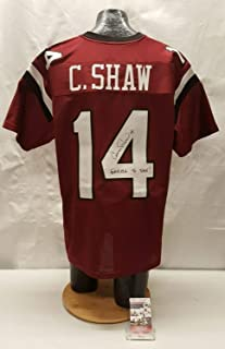 Connor Shaw Autographed Signed Usc Gamecocks Football Jersey JSA Cc75820