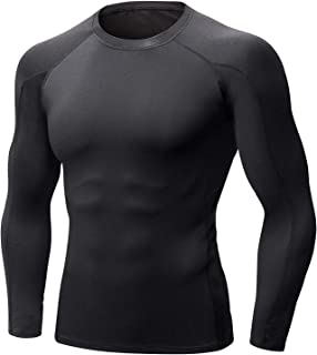 Sponsored Ad - Self Pro Men`s Thermal Compression Athletic Sports Ultra Soft Long Sleeve Cold Weather Winter Warm Base Lay...