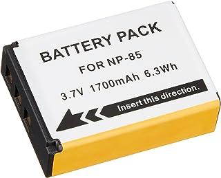 NinoLite NP-85 互換 バッテリー 2個セット Fuji フジ FinePix S1 / SL300 / SL1000 対応 np85x2_t.k.gai