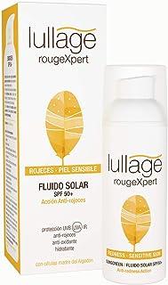 Lullage rougeXpert Filtro Solar Facial Anti-Rojeces Calma Irritaciones Ayuda a Cuidar las Pieles más Sensibles de los Efec...