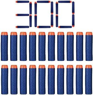 FHD 300 Pcs Nerf Relill Bullet Compatible Bullet Dardos Soft