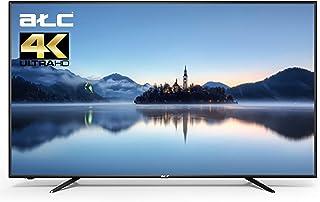 تلفزيون LED ذكي من ايه تي سي، بشاشة مقاس 50 بوصة بدقة 4 كيه الترا اتش دي، لون اسود، E-LD-50UHD