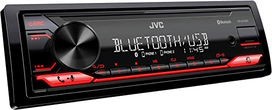 JVC KD-X270BT Digital Media Receiver Featuring Bluetooth, Front USB, JVC Remote App Compatibility