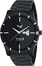 VILLS LAURRENS Analogue Men's Watch (Black Dial)