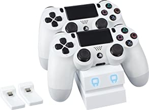 Venom PlayStation 4 Twin Docking Station - White (PS4)
