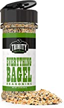 Trinity Provisions Everything Bagel Seasoning - Flavorful Spice Blend with Onion, Garlic, Salt, Sesame & Poppy Seeds - Gift Friendly Shaker Bottle for Chefs and Cooking Enthusiasts