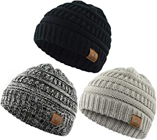 Durio Soft Warm Knitted Baby Hats Caps Cute Cozy Chunky...