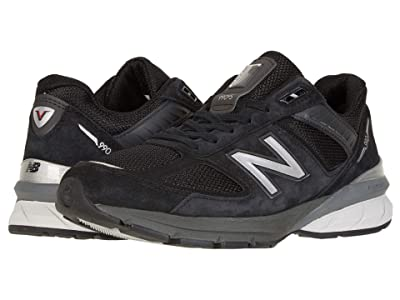 New Balance 990v5 (Black/Silver) Men