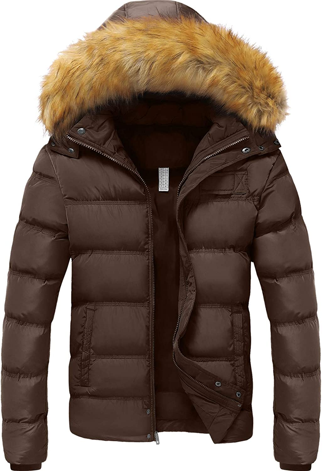 Szory Men's Winter Thicken Cotton Luxury Coat R Puffer with Warm Jacket All items free shipping