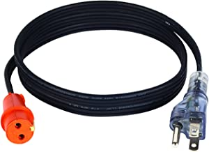 Zerostart 3600119 Lit Plug Cordset for Engine Block Heaters, 5-Feet | 120 Volts