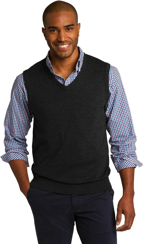 Port Authority Sweater Vest. SW286 Black XS