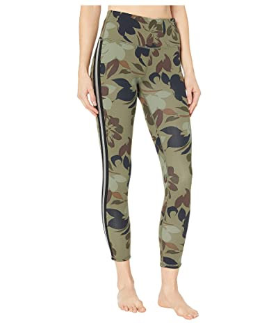 SKECHERS Floral High-Waisted 7/8 Leggings (Camo) Women