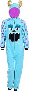 Disney Women's One Piece Pajama Set Union Suit Sleepwear (Sulley Plush, 1X)