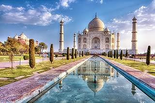 Taj Mahal in Autumn Agra India Photo Photograph Cool Wall Decor Art Print Poster 18x12