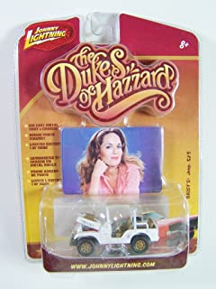 Johnny Lightning The Dukes of Hazzard Daisy's Dirty Jeep CJ-5