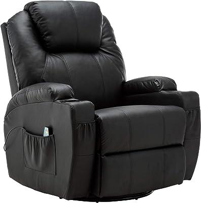 Amazon.com: MSG Masaje Reclinable sofá, silla Control de ...