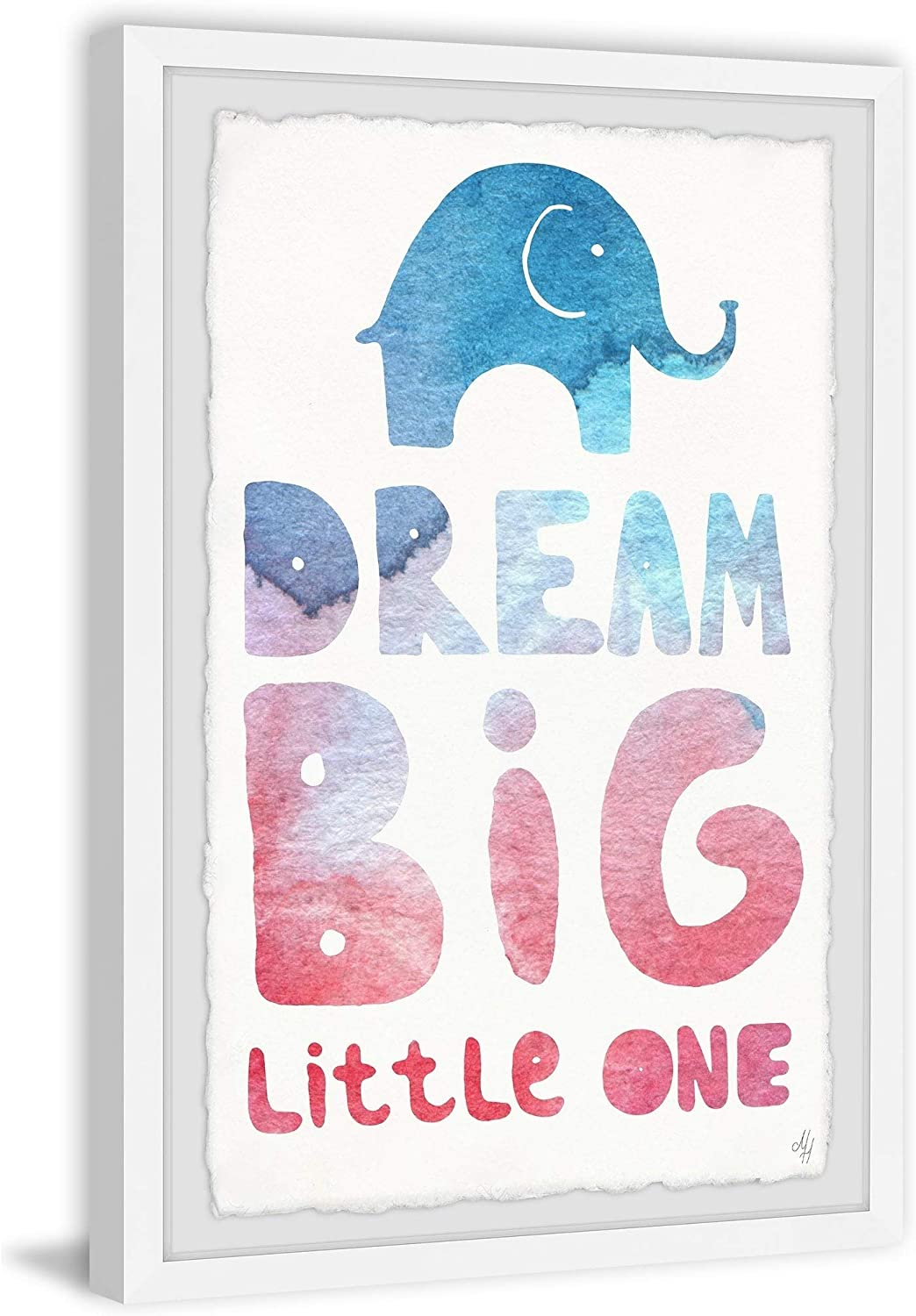 Marmont Hill - Free shipping on posting reviews Denver Mall Handmade Colorful Dream Big One Little II Framed