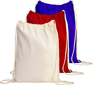 Best cotton drawstring backpack Reviews