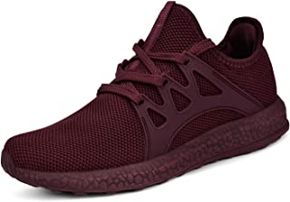 Womens Non Slip Sneakers Lightweight Air Knitted Walking Running Shoes
